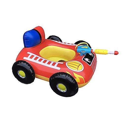 Asiento de pistola de pulverización de agua inflable para niños, anillo de natación de agua, bote inflable, piscina para niños, balsa flotante, balsas de piscina, juguetes para deportes acuáticos
