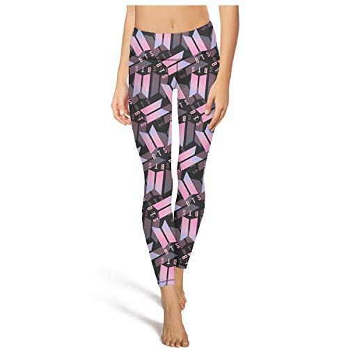Sweatpants High Waist BTS-Love-Yourself-Jimin-Rap-Monster- Leggings Womens Ladies Naturally Breathable Pants for Yoga