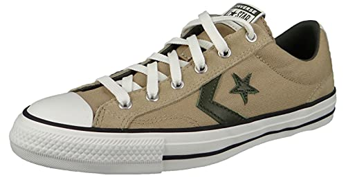 Converse Star Player 172406C - Sneaker basse da uomo, colore grigio, Nomad Khaki Farro Cargo Khaki, 46 EU