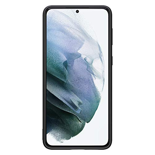Samsung EF-PG996TBEGWW Cover in silicone per Galaxy S21+ /Galaxy S21+ 5G Nero