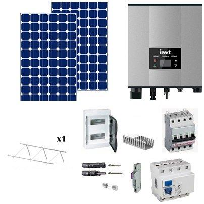kit solar de 3000w autoconsumo