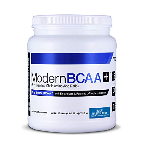 Modern Sports Nutrition BCAA+, Blue Raspberry, 535 g