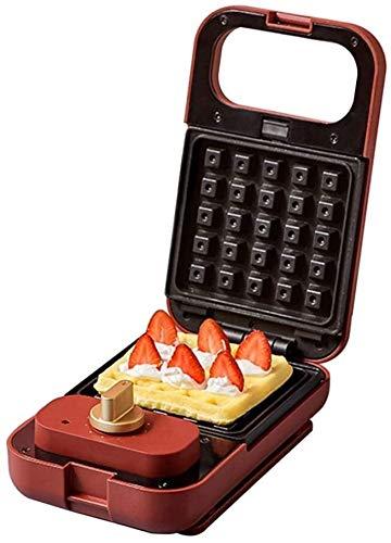 Tostadoras de sándwich Tostadora de sándwiches máquina de sándwiches 650W máquina de desayuno multifunción Toastie Maker, con fácil limpieza, 6 placas antiadherentes y asas frías al tacto, aptas para