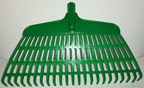 Rastrillo escoba práctico cepillo de púas para barrer hojas, césped cortado, con...