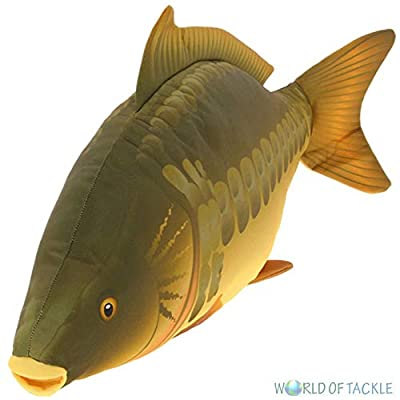 NGT Carp Fishing Fish Shaped Pillow Cushion Or Toy Great Gift Idea 70cm Long from NGT