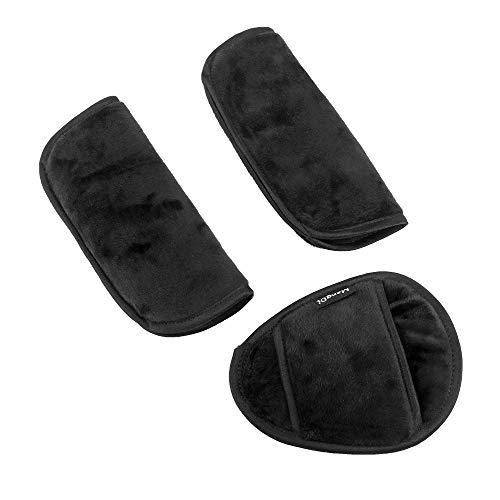 La Seguridad del Coche del Niño Cochecito De Protección del Hombro del Cinturón De Seguridad con Cinturón De Seguridad del Coche Cubierta De La Cesta De Estilo (Color Name : Black)