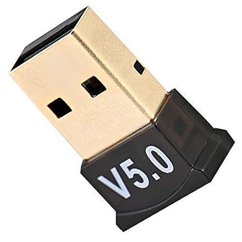 RDXHYF Adaptador USB Bluetooth 5.0 Dongle – Receptor transmisor inalámbrico Bluetooth para...