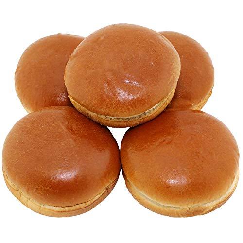 Brioche Burgerbrötchen XL (10 Stk.) - Burgerbun (12,64 € / kg)