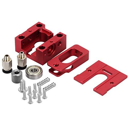 FYYONG Accesorios for impresoras de Aluminio de extrusión de Ruedas Bulldog Extrusora J Cabeza 3D