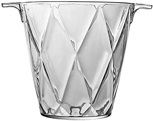 LLDKA Barra acrílico Cubo de Hielo con Cubo de Hielo Cubo de Hielo Cubo de Hielo Cubo de champán Cubo de Hielo Cubo de Hielo Cristal,3
