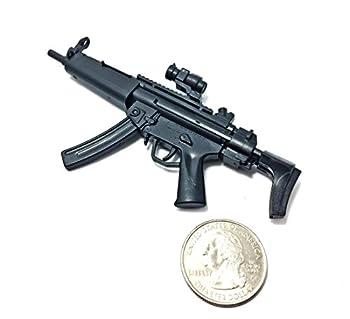 1/6 Scale MP5 Submachine Gun SWAT H&K German Miniature Toy Guns Model Fit for 12  Action Figure
