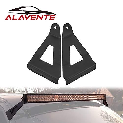ALAVENTE 54' Curved Light Bar Upper Windshield Mount Brackets Light Bar Brackets...