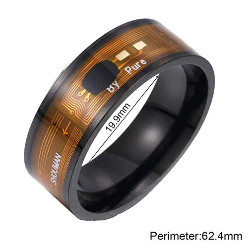 Earlyad Chip NFC Smart Ring Smart Ring New Technology Wearable Magic Finger for Windows
