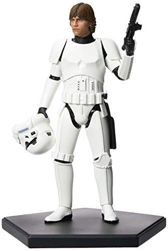 Star Wars Luke Skywalker Disguise 1/10 Art Scale Iron Studios Preto