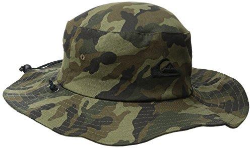 Quiksilver Men's Bushmaster Sun Protection Floppy Bucket Hat, Camo3, Large/X-Large