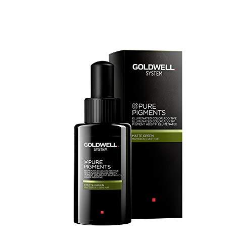 Goldwell Pure Pigments Grün Farbverstärkende Pigmente für gefärbtes Haar, 1er Pack (1 x 50 g)