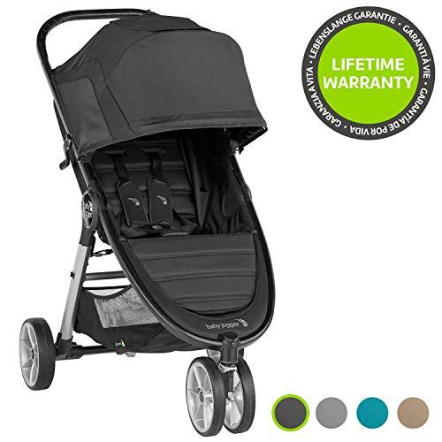 Baby Jogger 2083060 City Mini 2 - Silla de paseo con ruedas (3 ruedas), color negro