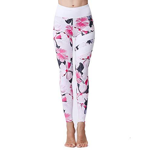 TBATM Leggins Sportivi da Donna, Senza Cucitura Pantaloni Elastici di Fitness per Palestra Correre Allenamento Yoga Collant di Base Dimagrante,J,S