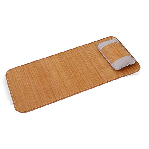 LJIANW-Summer Sleeping Mats, Sleeping Pad Rattan Mat Double-sided Use Health No Stimulation Comfortable Soft Skin-friendly Smooth Breathable Student Dormitory, 24 Sizes