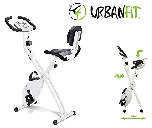 Cyclette Richiudibile Life Compact Con Schienale E Doppio Manubrio Slim - Urban Fit