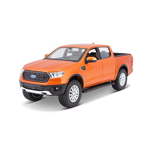 Maisto 531521 Ford Ranger Modellauto im Maßstab 1:27, orange