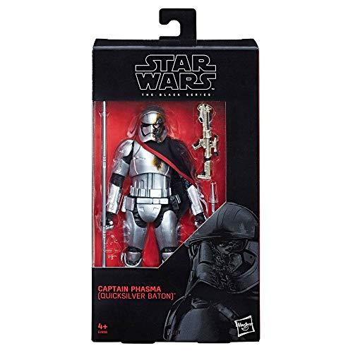 Star Wars Episode VIII Black Series Actionfigur 2019 Captain Phasma (Quicksilver Baton) 15 cm