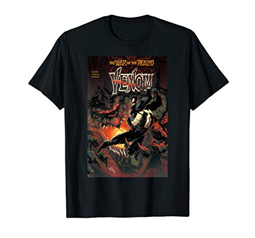 Marvel Venom In The War Of Realms Comic Book Cover T-Shirt
