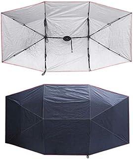 RISHIL WORLD Extra Large UV Oxford Cloth for Car Sun Shelter Umbrella Tent Roof Cover 4.5 * 2.3M Single Item.