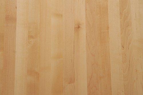 Tischplatte Holz massiv Birke 26mm geölt oder unbehandelt, Esstisch Couchtisch (Holz unbehandelt, 110 x 60)