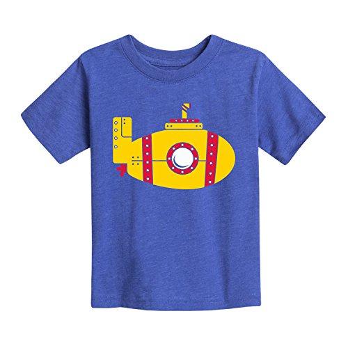 即时消息黄色潜水艇 - 幼儿短袖T恤