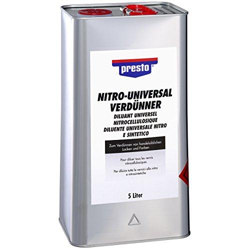 Presto 171659 Nitro-Universalverdünner 5 Liter, Grey