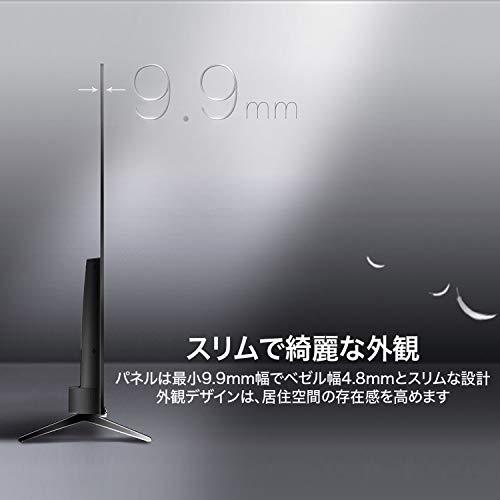 『TCL 50V型 4K液晶テレビ 50K601U HDR搭載 鮮やかな色彩 裏番組録画対応 2019年50インチモデル 50K601U』の4枚目の画像