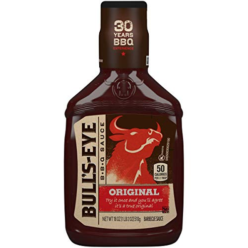 Bull's-Eye Original BBQ Sauce (18 oz Bottles, Pack of 6)