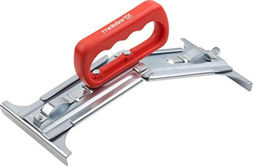 Meister Plattenheber - Geeignet für 30 - 50 cm Platten - 25 kg Tragkraft - Einfache Handhabung - Ergonomischer Handgriff / 5-stufig verstellbarer Plattenträger / Verlegewerkzeug / Hebehilfe / 4408000