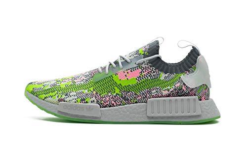 Adidas NMD R1 Primeknit - Zapatillas deportivas para hombre, color Gris, talla 45 1/3 EU