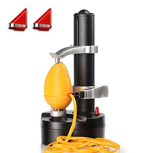 LUCKSTAR Electric Peeler - Rotato Express,Multi-function Fruit and Vegetable Peeling Machine Planing Knife Corer[2 Extra Blades]