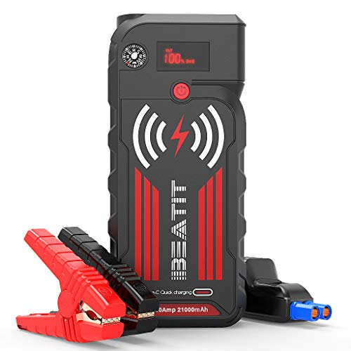 BEATIT G18 2000Amp Peak 12V Portable Jump Starter