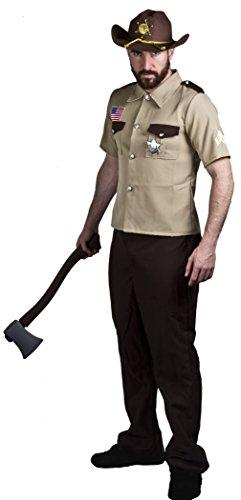 - Zombie Sheriff Erwachsene Herren Kostüme
