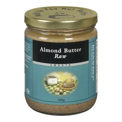 Long Beach Mall Nuts to You Nut Butter Raw Almond Smooth 365g Direct sale of manufacturer