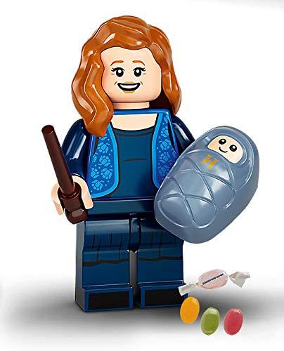 Serie 2 Lego 71028 Harry Potter - Minifiguras 07 Lily Potter, además de 1 x juego de pegatinas y 1 x mezcla de frutas