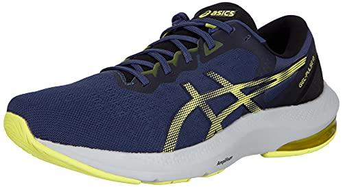 ASICS Herren Gel-Pulse 13 Running Shoe, Thunder Blue/Glow Yellow, 45 EU