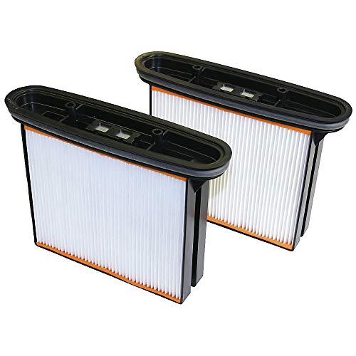 Faltenfilter-Kassette - für Sicherheits-Industriesauger Staubklasse M - VE 2 Stk - Faltenfilterkassette Filterkassette Zubehör