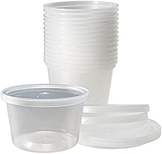 Delitainer 16 oz. Deli Food Containers w/ Lids - Pack of 36 By: Newspring