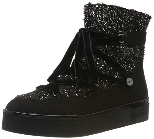 Liu Jo Shoes Damen Silvia 07 Booty Stiefeletten, Schwarz (Black 22222), 38 EU