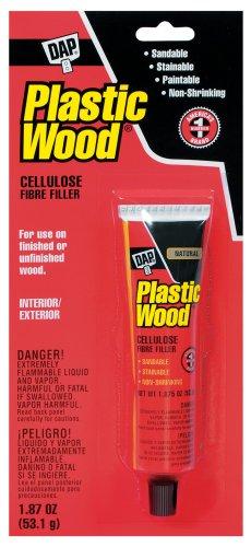 DAP 7079821500 Plastic Wood Slvnt NAT 1.87 Oz Raw Building Material, Natural