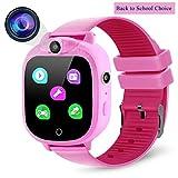 Prograce - Orologio digitale per bambini, con fotocamera digitale, con giochi, lettore musicale,...