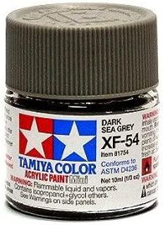 TAMIYA 81754 Acrylic Mini XF54 Dark Sea Gray 1/3 oz