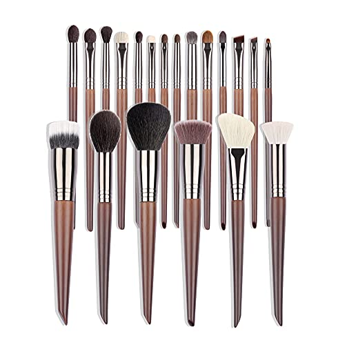 YGLONG Pinceaux Maquillages Kit d'outils cosmétiques Kit de Pinceau de Maquillage Kit de pinceaux pour Maquillage Synthetic Foundation Seageler Pinceaux Maquillage Teint (Handle Color : 3)