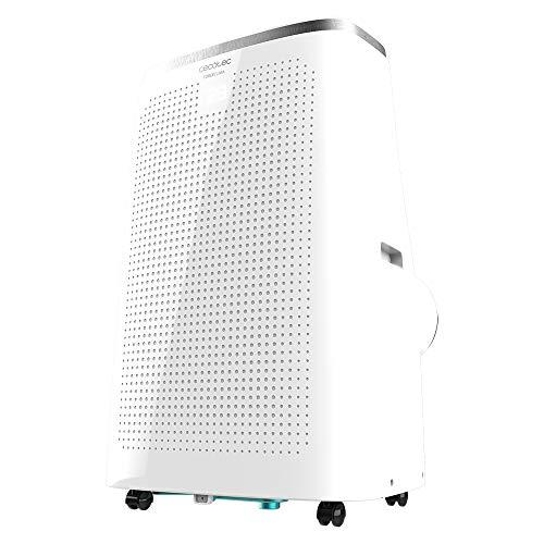 Cecotec Aire Acondicionado Portátil Force Clima 14750 Cold&Warm Connected. 14000 BTU, Bomba de Calor, Control WiFi, Mando a Distancia, 3 velocidades, 5 Modos, Pantalla LED, Temporizador