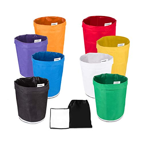 VIVOSUN 5-Gallon 8-Bag Herbal Ice Bubble Hash Bag Essense Extractor Kit Filtration Bags/Set